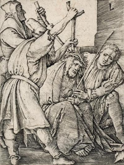 Christ Crowned with Thorns-Lucas van Leyden-Giclee Print