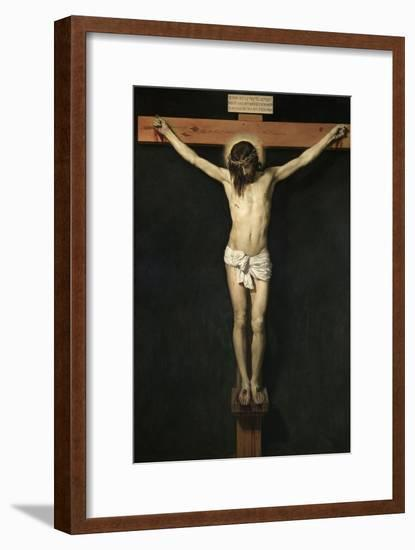 Christ Crucified, Ca. 1632-Diego Velazquez-Framed Giclee Print