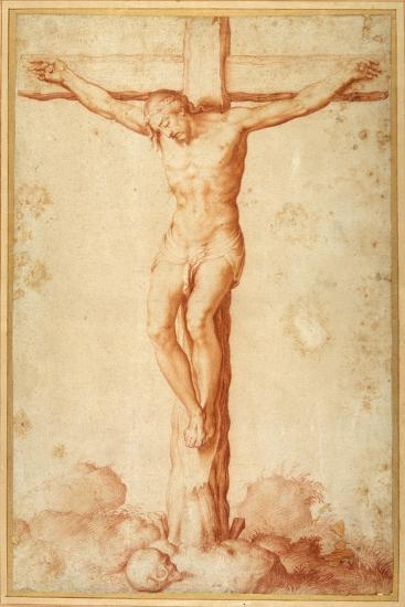 Christ Crucified on Golgotha--Giclee Print