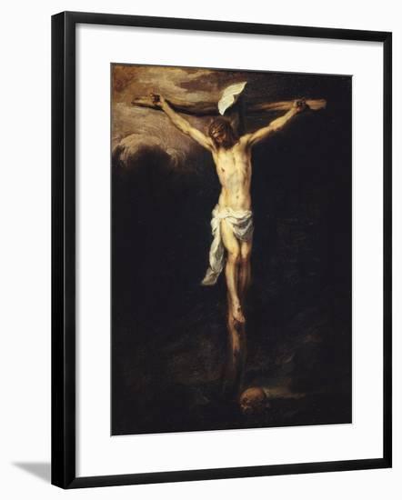 Christ Crucified-Bartolome Esteban Murillo-Framed Giclee Print