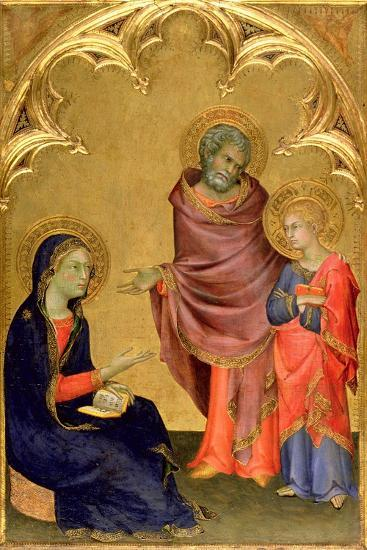 Christ Discovered in the Temple-Simone Martini-Giclee Print