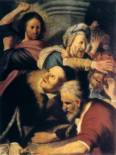 Christ Drives the Money-Changers from the Temple, 1626-Rembrandt van Rijn-Giclee Print