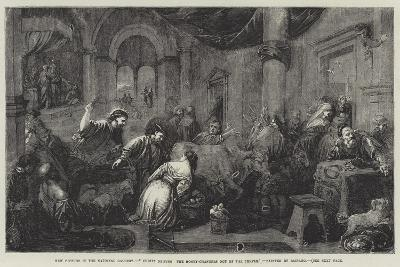 Christ Driving the Money-Changers Out of the Temple-Jacopo Bassano-Giclee Print