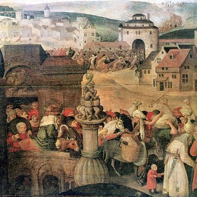 Christ Driving the Traders from the Temple' (Detail), C1584-1638-Pieter Brueghel the Younger-Giclee Print