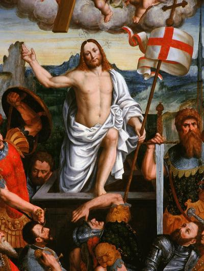 Christ Emerging from the Tomb, the Resurrection, from the Brotherhood of St Antony-Giuseppe Giovenone-Giclee Print