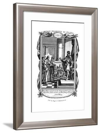 Christ Examined by Pilate, C1808--Framed Giclee Print