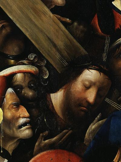 Christ, from Christ Carrying the Cross, C. 1490 (Detail)-Hieronymus Bosch-Giclee Print