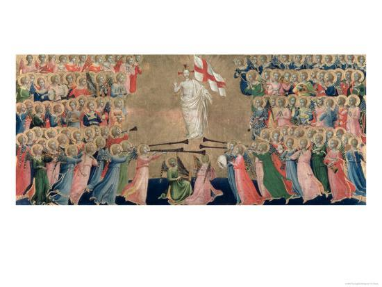 Christ Glorified in the Court of Heaven, 1419-35 Giclee Print by Fra  Angelico | Art com
