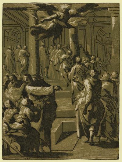 Christ Healing the Paralytic Man, Between 1540 and 1560--Giclee Print