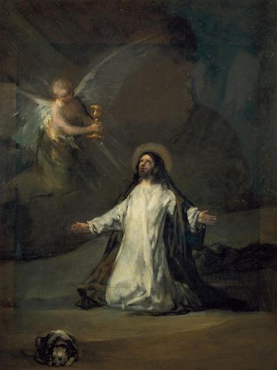 Christ in Gethsemane-Suzanne Valadon-Giclee Print