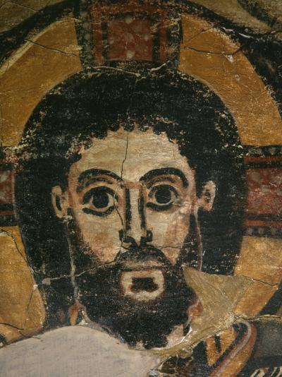 Christ in Glory, Fresco, 6th century, from Monastery of Saint Jeremiah, Saqqarah, Egypt--Photographic Print