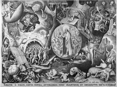 Christ in Hell, C.1561-Pieter Bruegel the Elder-Giclee Print