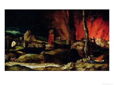 Christ in Limbo-Hieronymus Bosch-Giclee Print