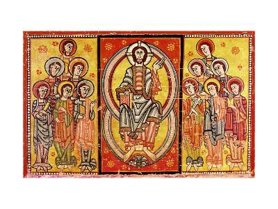 Christ in Majesty Surrounded by the Twelve Apostles--Giclee Print