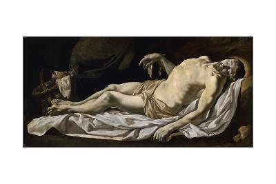 Christ in Sheet-Charles Le Brun-Giclee Print