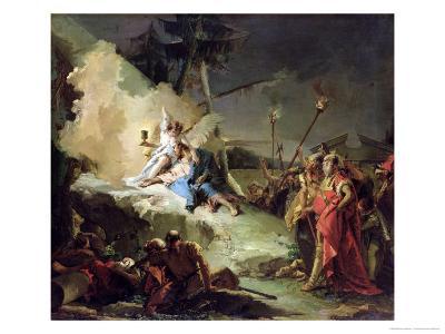 Christ in the Garden of Gethsemane-Giovanni Battista Tiepolo-Giclee Print