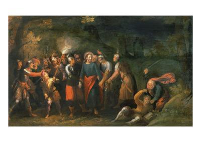 Christ in the Garden of Gethsemane-Hans Jordaens III-Giclee Print