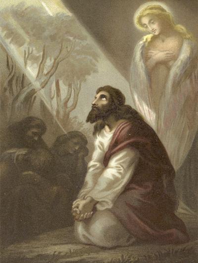Christ in the Garden of Gethsemane--Giclee Print