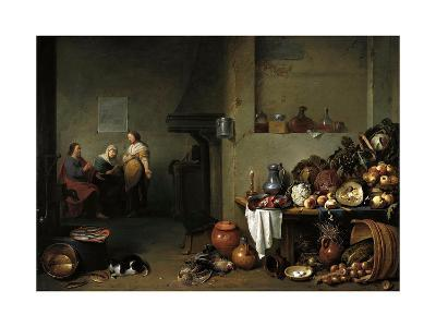 Christ in the House of Martha and Mary-Pieter De Bloot-Giclee Print