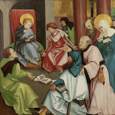 Christ in the Temple, C.1510-30-Hans Leonard Schaufelein-Giclee Print
