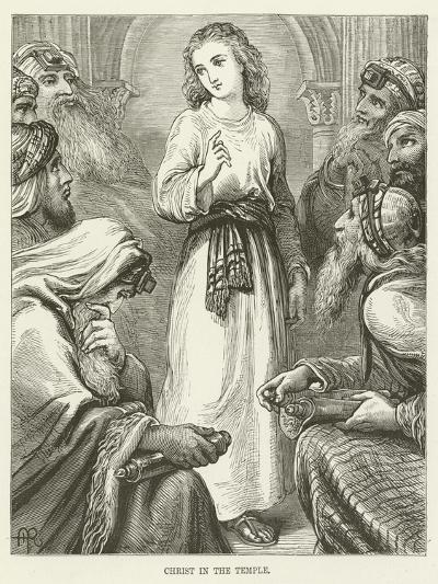 Christ in the Temple--Giclee Print