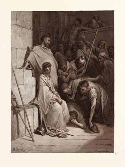 Christ Mocked-Gustave Dore-Giclee Print