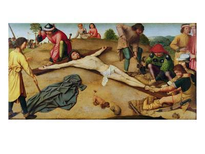 Christ Nailed to the Cross, 1481-Gerard David-Giclee Print
