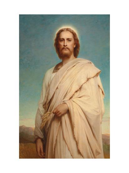 Christ of the Cornfield, 1883-Thomas-Francis Dicksee-Giclee Print