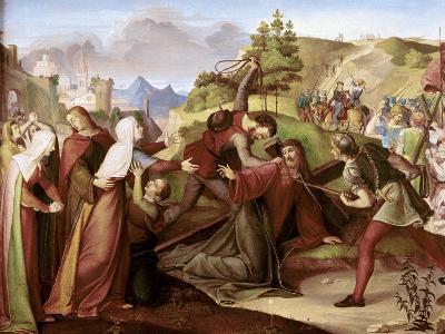 Christ on His Way to Golgotha-W. Von Schadow-Giclee Print