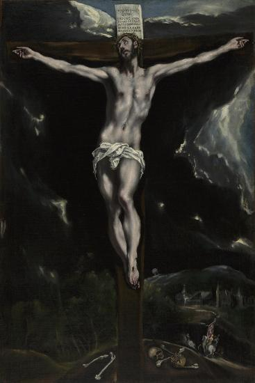 Christ on the Cross, 1600-10-El Greco-Giclee Print