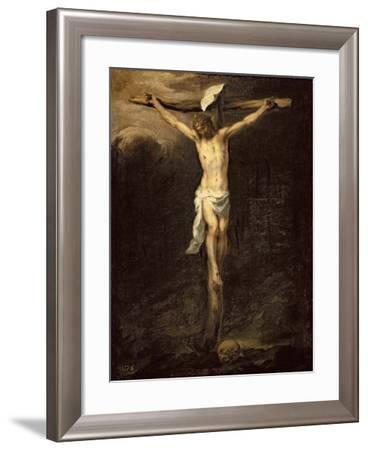 Christ on the Cross, 1672-Bartolome Esteban Murillo-Framed Giclee Print