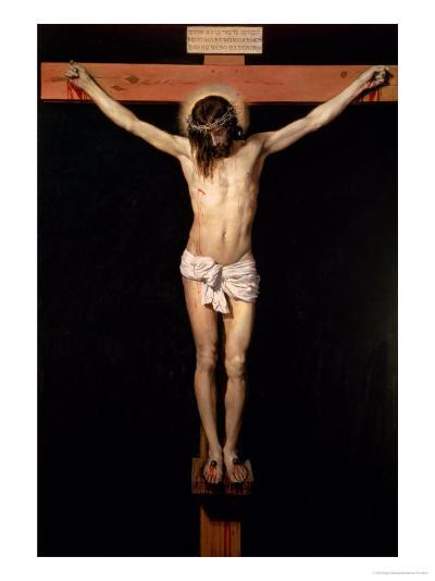 Christ on the Cross, circa 1630-Diego Velazquez-Giclee Print