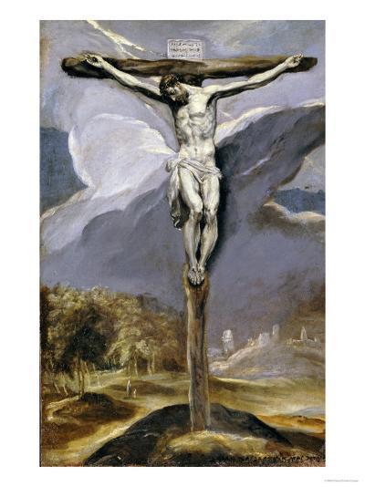 Christ on the Cross-El Greco-Giclee Print