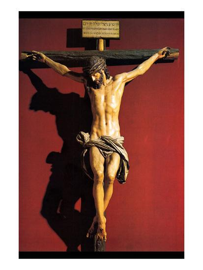 Christ on the Cross-Juan Martinez Montanes-Art Print
