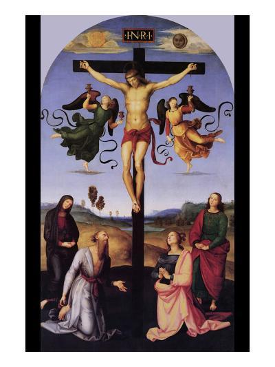 Christ on the Cross-Raphael-Art Print
