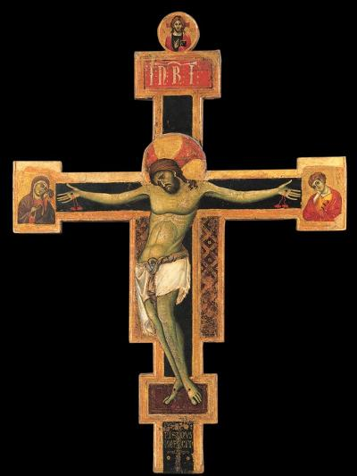 Christ on the Cross-Giunta Pisano-Art Print