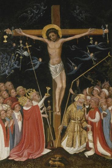 Christ on the Living Cross, 1420-30- Master of Saint Veronica-Giclee Print