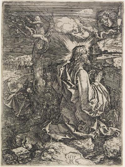 Christ on the Mount of Olives, 1515-Albrecht D?rer-Giclee Print