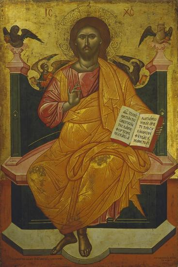 Christ on the Throne, Icon-Emmy Thornam-Giclee Print