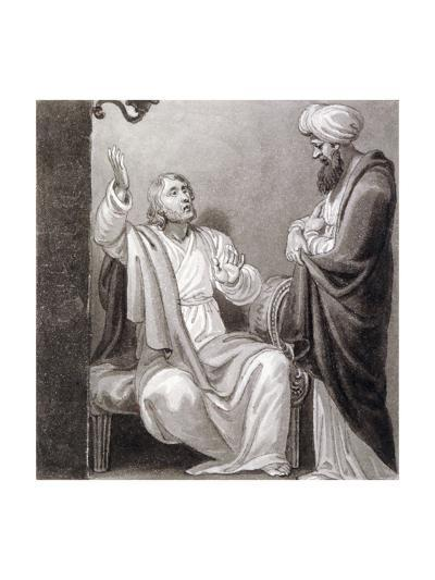 Christ Preaching, C1810-C1844-Henry Corbould-Giclee Print