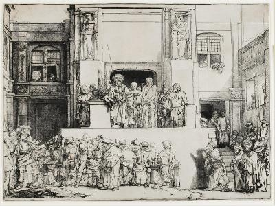 Christ Presented to the People (Ecce Homo), 1655-Rembrandt van Rijn-Giclee Print