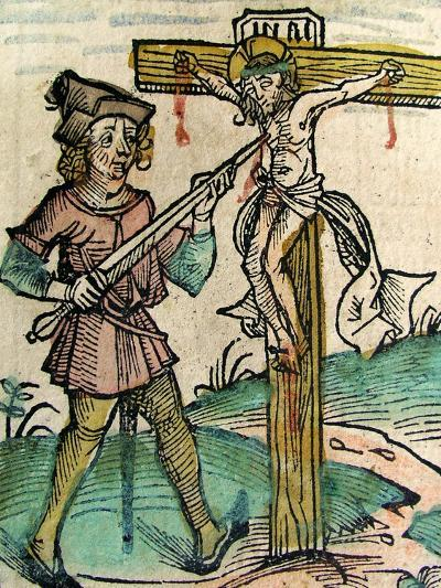 Christ Recrucified, Published in the Nuremberg Chronicle, 1493--Giclee Print