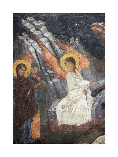 Christ Risen Indicating the Tomb of Virgin in Church of Sveta Petka Samardzijska, Sofia, Bulgaria--Giclee Print