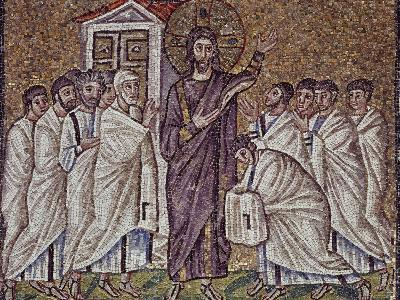 Christ's Appearance to Apostles and Doubting St Thomas--Photographic Print