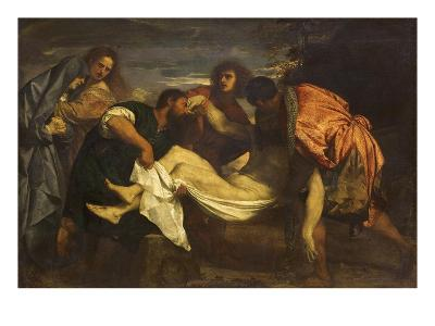Christ's Deposition in the Tomb-Titian (Tiziano Vecelli)-Giclee Print