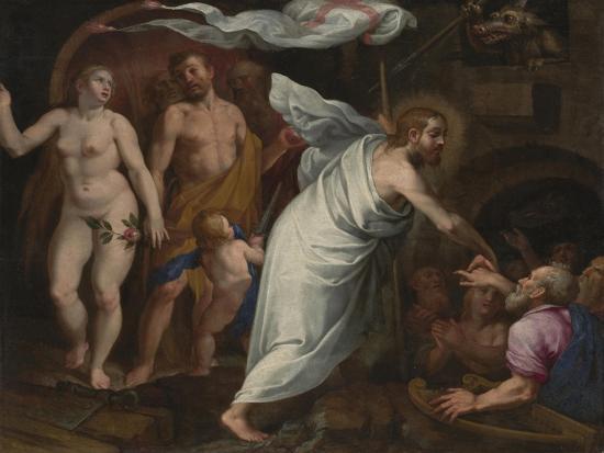 Christ's Descent into Limbo-Pablo de Cespedes-Giclee Print