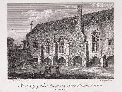 Christ's Hospital, London, 1812-James Lambert-Giclee Print