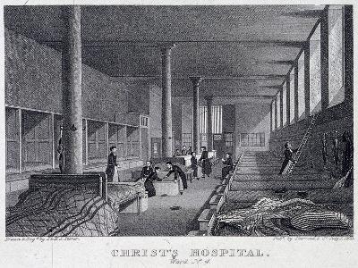 Christ's Hospital, London, 1823-Henry Sargant Storer-Giclee Print