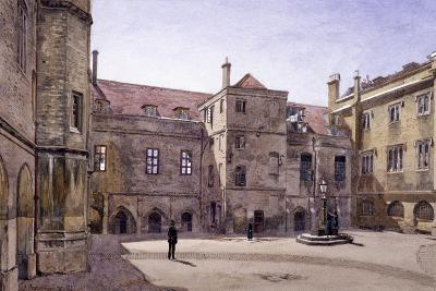 Christ's Hospital, London, 1881-John Crowther-Giclee Print