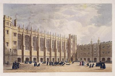 Christ's Hospital, London, C1825--Giclee Print